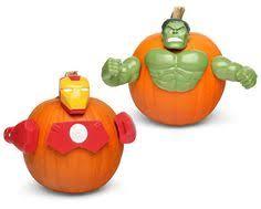 Pumpkin Push Ins by Partybell Com Hulk Pumpkin Push Ins Halloween Party Supplies
