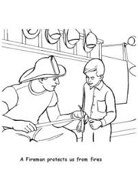 Labor Day Coloring Page Kindergarten