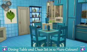 Mod The Sims - Dining Table And Chair Set In 12 Fluro Colours! Upholstered Modern Ding Room Chairs Mid Century Table Teal Blue Fabric Set Of 2 Edloe Finch Colorful Painted Inspiration Addicted Mod The Sims And Chair In 12 Fluro Colours Hot Item Extension Hpl Glass Grey Fniture Table With Chairs Lamps Whats On Pinterest Keep Calm These Beautiful Turquoise Amazing Resin Gorgeous Oak 6 Made For Sale Weybridge Surrey Gumtree American Drew Park Studio Contemporary 9 Piece Bright In Style With Designer Kitchen Lazboy