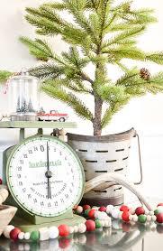 Wood Bead Garland Christmas Decor
