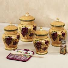 Savannah Turquoise Kitchen Canister Set by Teal Kitchen Canister Sets