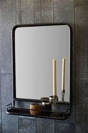 large industrial mirror with shelf industrial mirrors