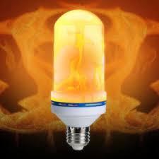 e27 led light bulbs vintage gas l animated flickering