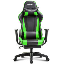 Merax Racing Gaming Chair & Reviews | Wayfair 5 Best Gaming Chairs For The Serious Gamer Desino Chair Racing Style Home Office Ergonomic Swivel Rolling Computer With Headrest And Adjustable Lumbar Support White Bestmassage Pc Desk Arms Modern For Back Pain 360 Degree Rotation Wheels Height Recliner Budget Rlgear Every Shop Here Details About Seat High Pu Leather Designs Protector Viscologic Liberty Eertainment Video Game Backrest Adjustment Pillows Ewin Flash Xl Size Series Secretlab Are Rolling Out Their 20 Gaming Chairs