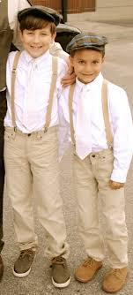Vintage Wedding Boys