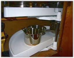 Blind Corner Kitchen Cabinet Ideas by Kitchen Cabinets Organizers For Blind Corner Cabinets Home