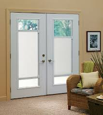 French Door Treatments Ideas by Bi Directional Touch Shades For French Door Window Treatment