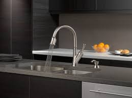 19949 sssd dst single handle pull down kitchen faucet with soap