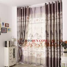 Sound Deadening Curtains Cheap by Chinese Style Light Gray Polyester Thick Energy Saving Curtains