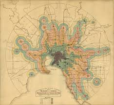 Urban Demographics Old And New Isochrone Maps