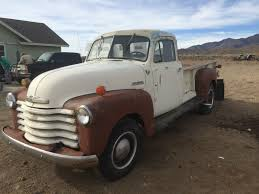 1951 CHEVROLET 1 TON 5 WINDOW PICK UP TRUCK - Classic Chevrolet ...