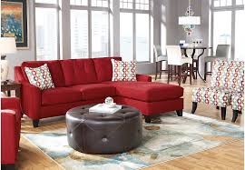 cindy crawford home madison place cardinal 8 pc sectional living
