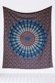 Gypsy Home Decor Book by Amazon Com Handmade Cotton Mandala Bedspread Throw Bohemian