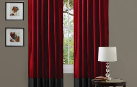 Living Room Curtains Walmart by Curtains Red Curtains Walmart Beautiful Red Panel Curtains Red