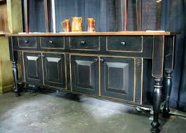 Dining Room Buffet Sideboards Country French Sideboard Cabinet Buffets Storage Servers Black