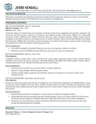Police Sergeant Cover Letter Officer Sample A