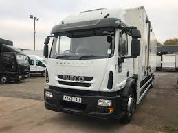 100 Used Box Trucks For Sale By Owner Iveco EUROCARGO 180E25S AUTO BOX Van For Sale In Salford