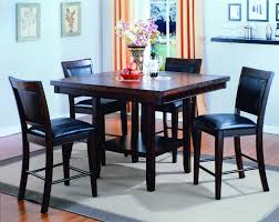 Crown Mark Fulton Piece Counter Height Table And Chair Set ...