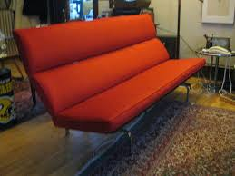 Eames Sofa Compact Used by Miller Upholstering 1970s Eames Compact Sofa