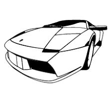 Classy Idea Race Coloring Pages Lamborghini Diablo Car