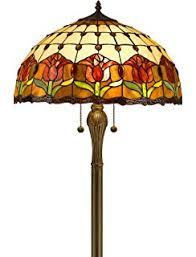 Quoizel Tiffany Lamp Shades by Quoizel Tfbf9362vb Belle Fleur Tall Glass Floor Lamp 3 Light