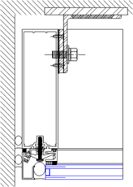 windload anchor details ycw 750 ssg 08 44 13 curtain wall