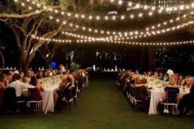 House Outdoor Wedding Ideas Lighting