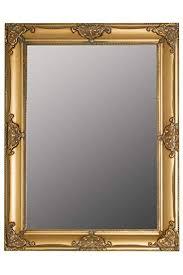 spiegel spiegel silber 62x52cm holz neu wandspiegel barock