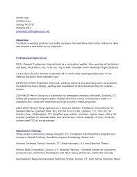 Elegant Welder Resume Objective Lo I Samples Exclusive Sample An Welding W Medium Size