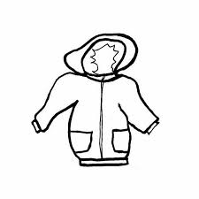 mitten clipart black and white