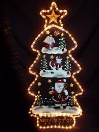 Christmas Tree Amazon Uk by Christmas Decorations Light Father Christmas Tree Indoor Or