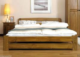 Wooden King Size Bed Frame With Drawers King Bed Size With Frame