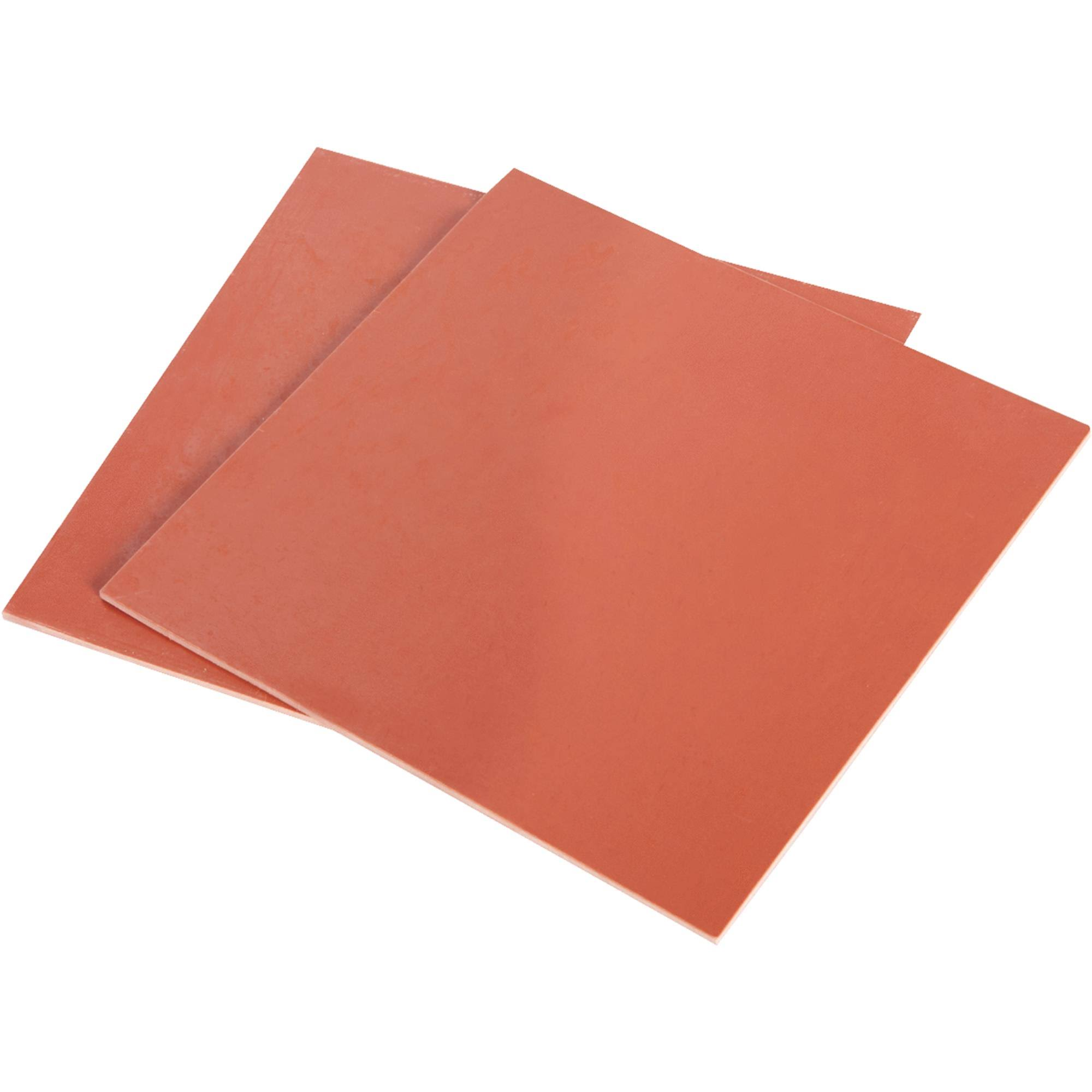 Do it Rubber Sheet - Red, 6x6""