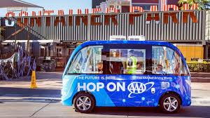 Now You Can Ride A Driverless Shuttle In Las Vegas, For Free - Los ...