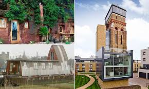 100 Grand Designs Lambeth Water Tower Families Rent Out Their Homes For TREBLE The