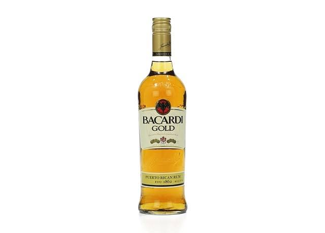 Bacardi Rum, Gold - 750 ml
