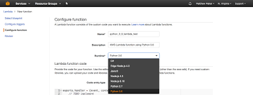 Python Decorators Simple Example by How To Create Your First Python 3 6 Aws Lambda Function Full
