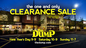 The e and ly Clearance Sale at The Dump