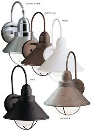 stratus collection 12 34 high indoor outdoor wall sconce nautical