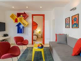 100 Pop Art Bedroom POP ART Style Apt Steps From Hilton Beach Tel Aviv City Center