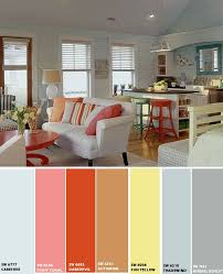 Yellow Living Room Color Schemes by Best 25 Beach Color Schemes Ideas On Pinterest Beach Color
