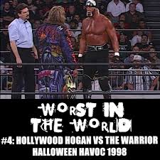 Wcw Halloween Havoc by The Wrestling Section Worst In The World Hollywood Hogan Vs The