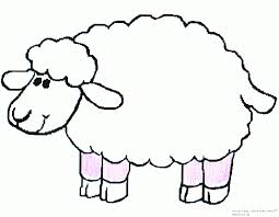 Coloring Pictures Of Sheep