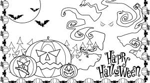 Scary Halloween Pumpkin Coloring Pages by Stunning Scary Halloween Coloring Pages Printables 19 Photos