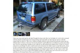 Dad Teaches Disrespectful Son Lesson By Selling His SUV On ... Project Car Hell Gm Xbody Edition Olds Sportomega Or Chevy Craigslist Used Cars July 28th By Private Owner 4000 Ford Focus Lino Lakes Mn Trucks Bobs Auto Ranch Mobile Alabama Vans And Suvs Popular By Duluth Mn Valdosta Ga Personals Akron Canton Craigslist Free Slaves For Sale Ad Showing Two Teen Girls In Florida St Cloud Lifted Truck Lift Kits For Dave Arbogast Man Attempts To Sell His 1999 Toyota Corolla Using Funny Viral