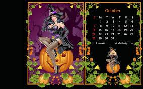 Live Halloween Wallpapers For Desktop by Images Of Halloween Wallpaper Calendar Sc