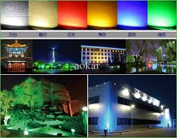 lighting color led flood light bulbs color changing led flood