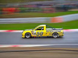 100 Truck Brands Geoff Dixon No50 Yellow Pickup Hatch Racing Motion