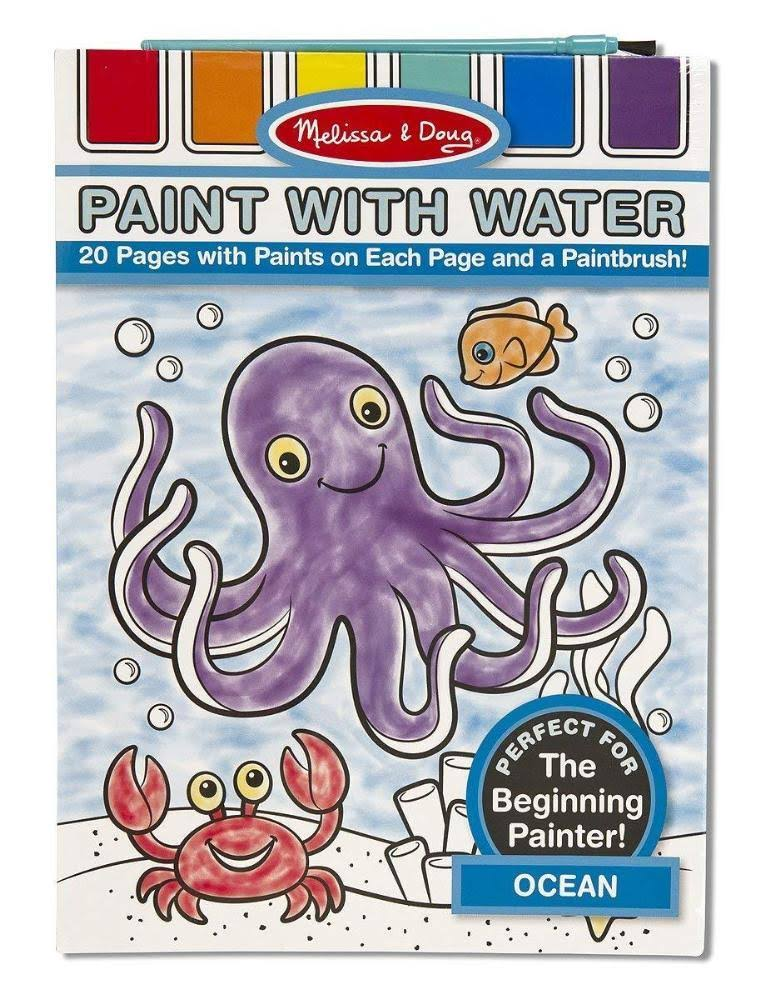 Melissa & Doug Paint with Water Set - Ocean