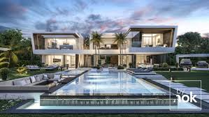 104 Beverly Hills Modern Homes Flawless By Nok Villa In Madrid Spain Magazine Villa Design Dream House Exterior Villa Design